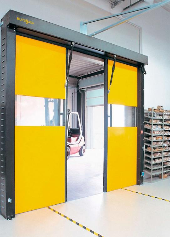Usi ultra rapide cu deschidere pe orizontala - Solutii pentru industria alimentara de la Gunther Tore