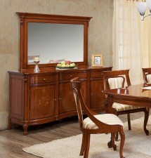 Bufet cu 3 Usi Firenze - Mobila sufragerie lemn masiv Firenze