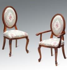 Scaun cu/fara Brat Firenze - Mobila sufragerie lemn masiv Firenze