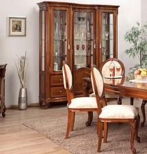 Vitrina 3 Usi Firenze - Mobila sufragerie lemn masiv Firenze