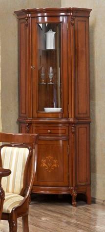 Vitrina Colt Firenze - Mobila sufragerie lemn masiv Firenze