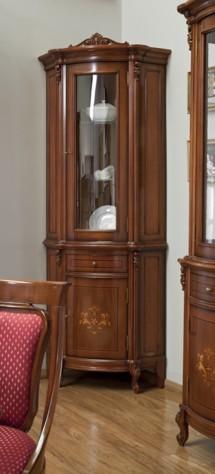 Vitrina Colt md2 Firenze - Mobila sufragerie lemn masiv Firenze