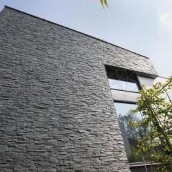 Ardezie Panel Stras Black 15 x 60 cm - Piatra naturala panel