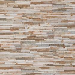 Quartit Panel Titanium Stripes 15 x 60 cm - Piatra naturala panel