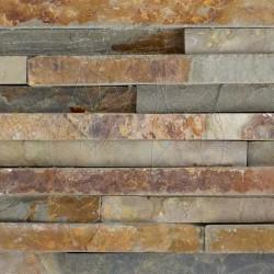 Ardezie Panel Multi Stripes 15 x 60 cm - Piatra naturala panel