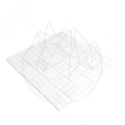 Mozaic Marmura Thassos Polisata Tetris - Piatra naturala panel