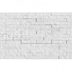 Mozaic Marmura Thassos 3D Tetris Polisata - Piatra naturala panel