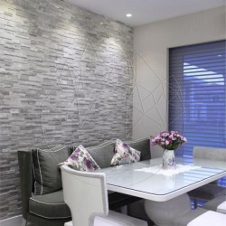 Mozaic Marmura Tundra Grey 3D Wall Polisata - Piatra naturala panel