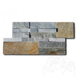Quartit Panel Metaksi Click 18 x 35 cm - Lichidare Stoc - Piatra naturala panel