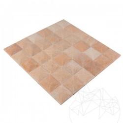 Mozaic Marmura Rodon Pyramid Polisat 5 x 5cm - Piatra naturala panel