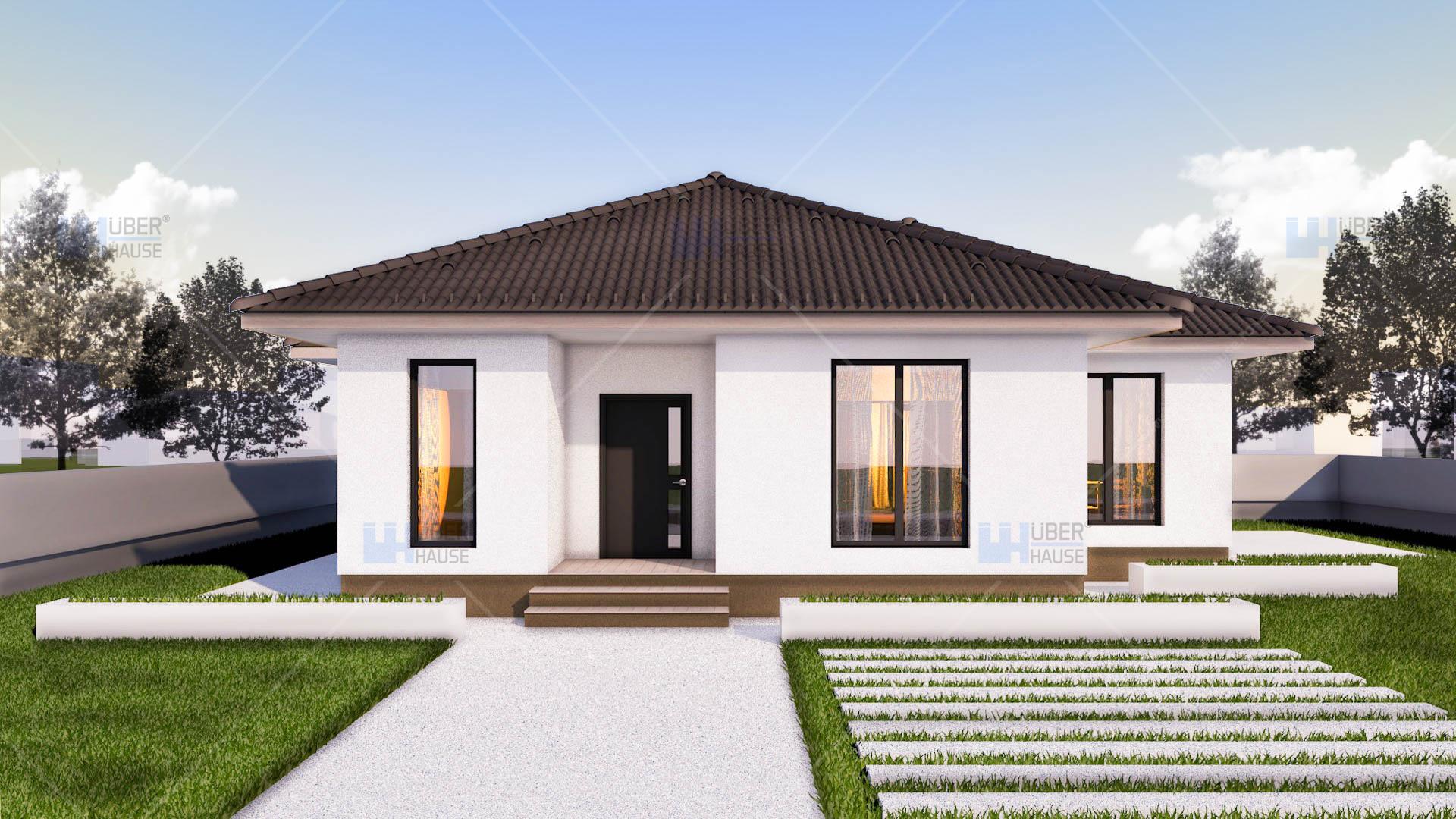 Proiecte case mici uberhause for Modele de case mici