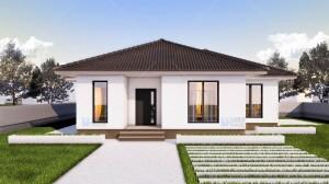 Proiect casa Ema - Proiecte de case mici