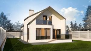Proiect casa Anais - Proiecte de case mici
