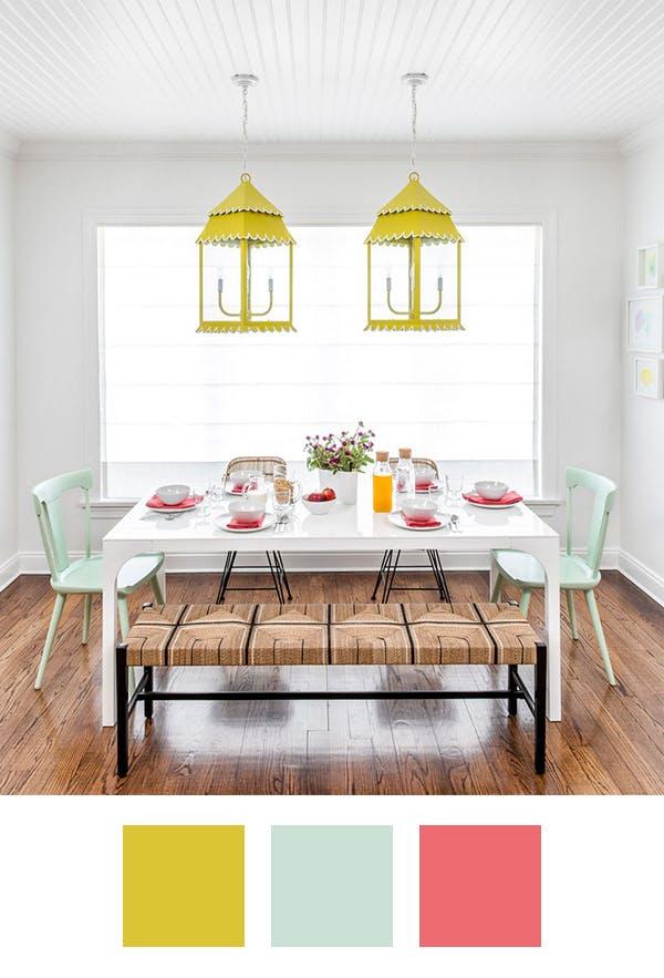 5 palete de culori pentru iubitorii de galben - 5 palete de culori pentru iubitorii de