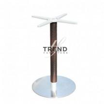 Picior Mezza Rotund - Componente pentru mobilierul de terasa