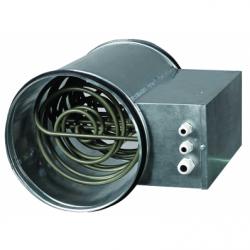 Baterie de incalzire electrica fi 125mm, 2,4kw, 220V - Incalzire si climatizare baterii de incalzire electrice