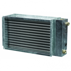 Incalzitor pe apa 500*250mm, 2 tevi, 14kw - Incalzire si climatizare baterii de incalzire electrice