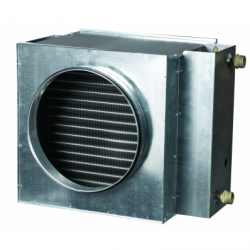 Incalzitor pe apa fi 200mm, 4 tevi - Incalzire si climatizare baterii de incalzire electrice