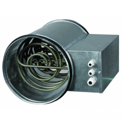 Baterie de incalzire electrica fi 250mm, 1.2 kw, 220V - Incalzire si climatizare baterii de incalzire electrice