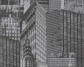 Tapet din vinil - 252821 - Tapet rezidential din vinil Black & White 3