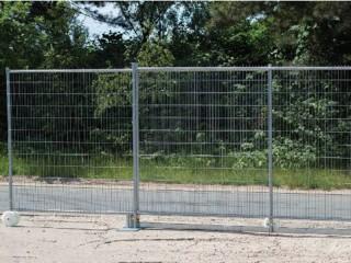 Poarta Sliding Gate Construction - Garduri mobile pentru imprejmuiri temporare