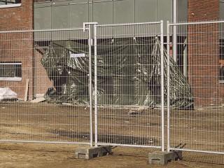 Poarta mobile acces pietonal anti-climb - M500 - Garduri mobile pentru imprejmuiri temporare