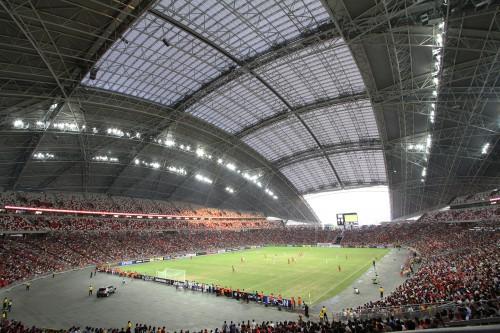 The Sports Hub Singapore - Cea mai larga structura de acoperis din lume construita cu TEHNOLOGIA