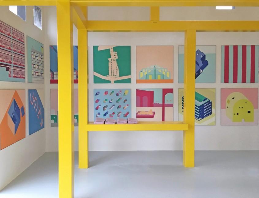 cabinet-of-curiosities-2AP-A-col_1-1704x1299 - O schiță a arhitectului Ettore Sottsass a fost transformată într-un pavilion pentru Bienala de