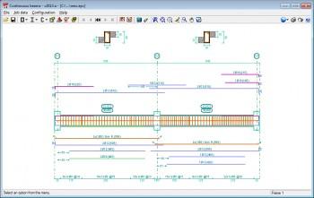 Program de proiectare Grinzi Continue - Software proiectare