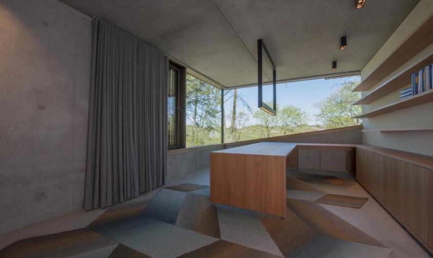 Vila Meijendel - Casa din lemn si metal, cu zero consum de energie