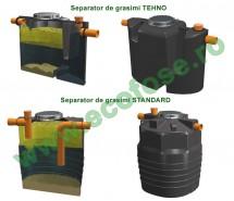 Separator de grasimi TEHNO - Separatoare de grasimi din polietilena