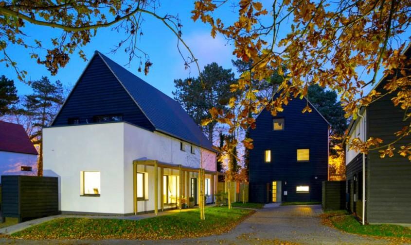 Casele Carrowbreck Meadow - Complex de case pasive la un preț accesibil