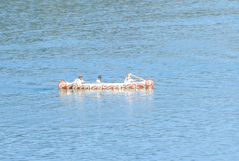 Model ambarcatiune: CANOE - Expozitia de barci - Criber Nautics
