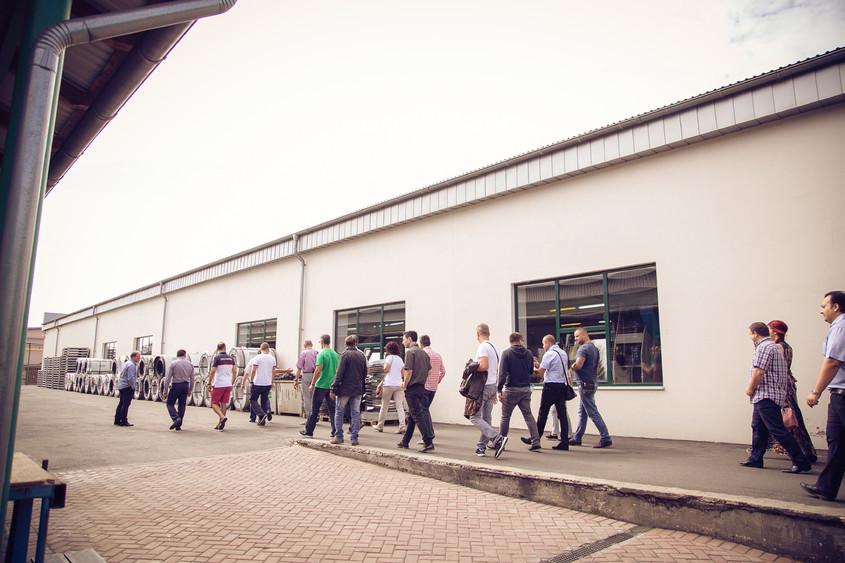 Intre 20 si 22 August 2015 Chisinaul a fost gazda pentru Partenerii RoofArt! - Intre 20