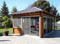 Veranda chiosc - Tipuri de verande