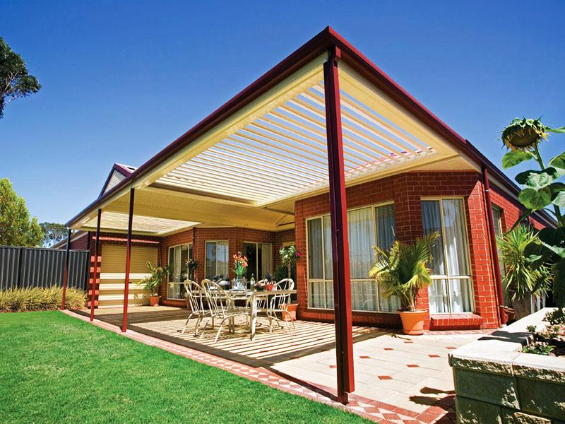 Veranda cu luminator si sisteme de protectie solara - Tipuri de verande