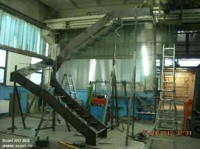 Productie scara metalica - model Athen - Procesul de productie al scariilor