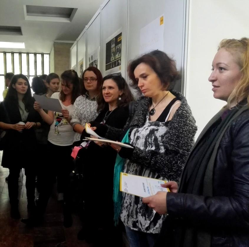 56 de studenti de la Universitatea de Arhitectura si Urbanism din Bucuresti proiecteaza cu YTONG obiecte