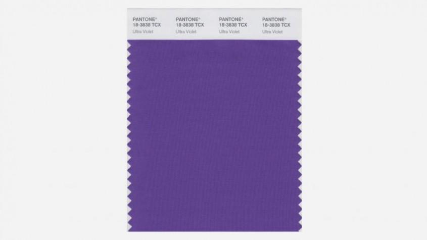 Panetone a anuntat culoarea anului 2018 - Ultraviolet - Pantone a anunțat culoarea anului 2018 -