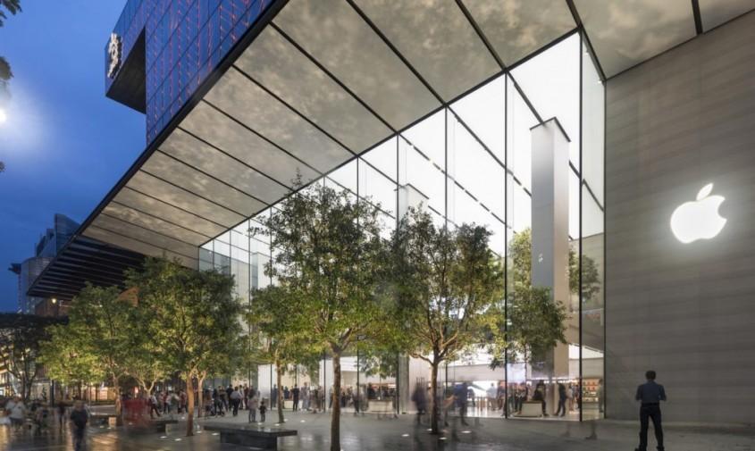 Magazinul Apple Orchard Road - Primul magazin Apple care este alimentat 100% cu energie regenerabilă