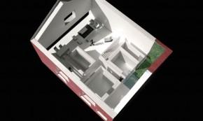 Casa Rosie - planuri - O cramă portugheză transformată în casă modernă