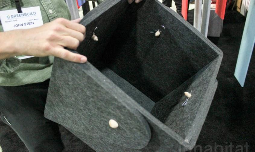 Panouri fono-absorbante realizate din sticle de plastic reciclate - Panouri fono-absorbante realizate din sticle de plastic