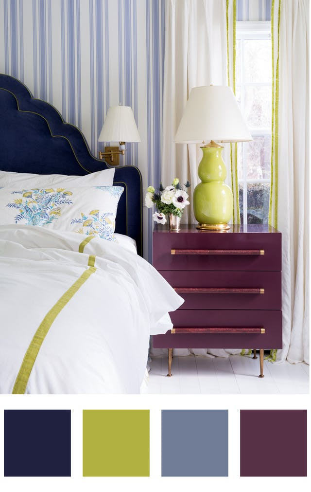 5 palete de culori pentru iubitorii de albastru - 5 palete de culori pentru iubitorii de