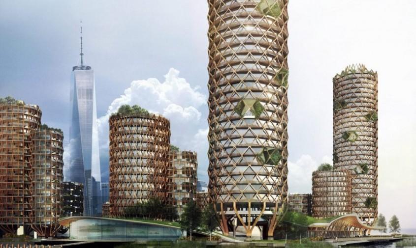 Turnurile care vor rezista la o crestere a nivelului marii de pana la 2 m -