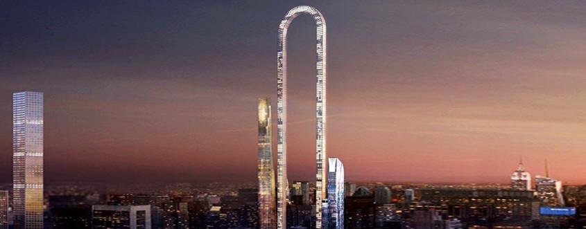 """""""Marea Indoitura"""" - Inovatii in arhitectura un turn indoit ce doreste sa devina cea mai lunga"""