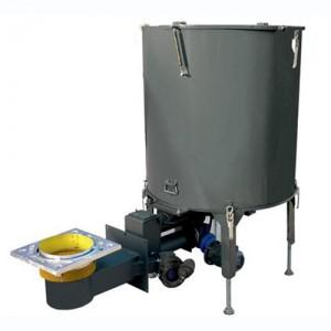 Arzator cu sistem de mixare combustibil usor BIOMIX - Arzatoare cu functionare pe biomasa