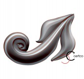 Element decorativ Frunza 8 - Elemente personalizate