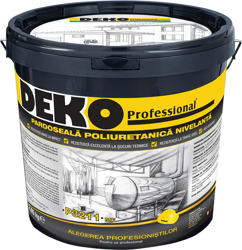 DEKO Professional - pardoseala poliuretanica - Policolor inoveaza pe segmentul de produse epoxidice si poliuretanice o