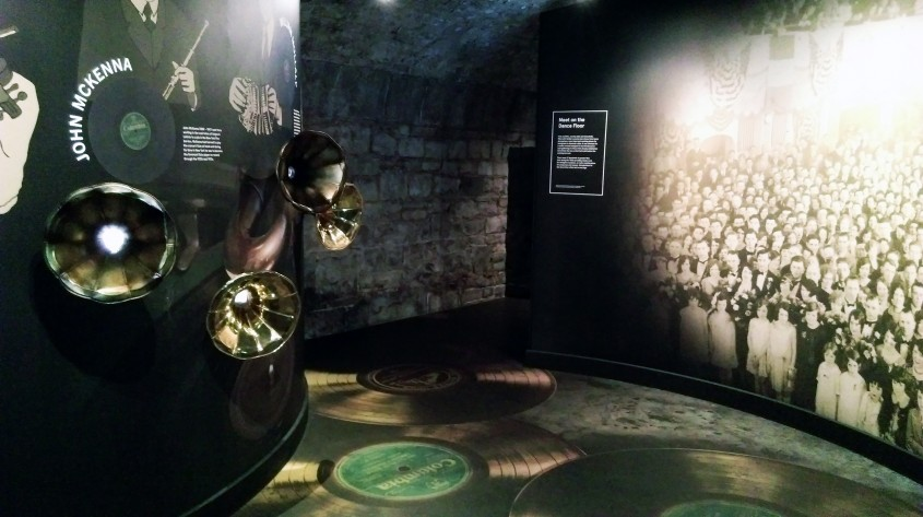Galeria muzicii irlandeze - Muzeul Emigrației Irlandeze EPIC un spectacol vizual și interactiv care nu trebuie