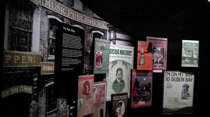 Galeria muzicii irlandeze - Muzeul Emigrației Irlandeze EPIC, un spectacol vizual și interactiv care nu trebuie ratat